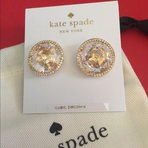 Kate Spade 'She Has Spark' stud earrings NWT